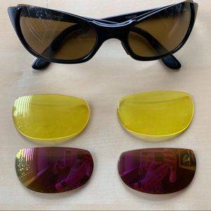 Rare Smith Toaster sunglasses with 3 lenses